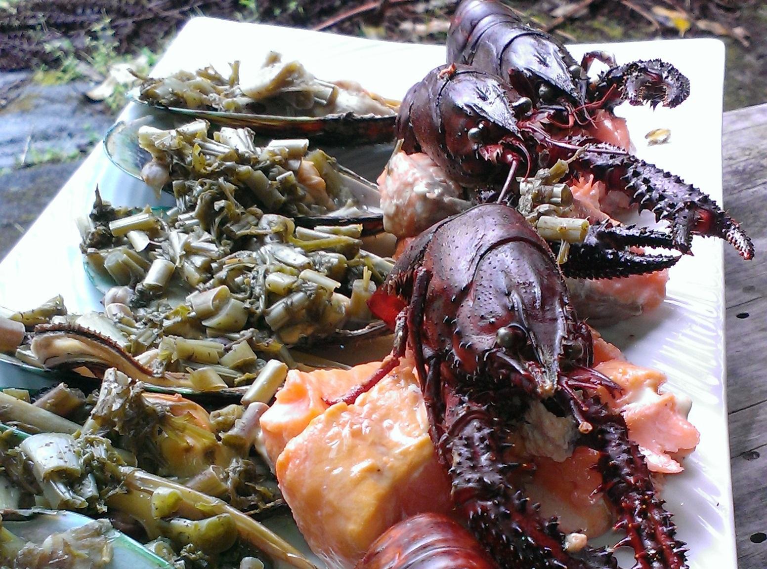 Kai - indigenous Māori food ingredients