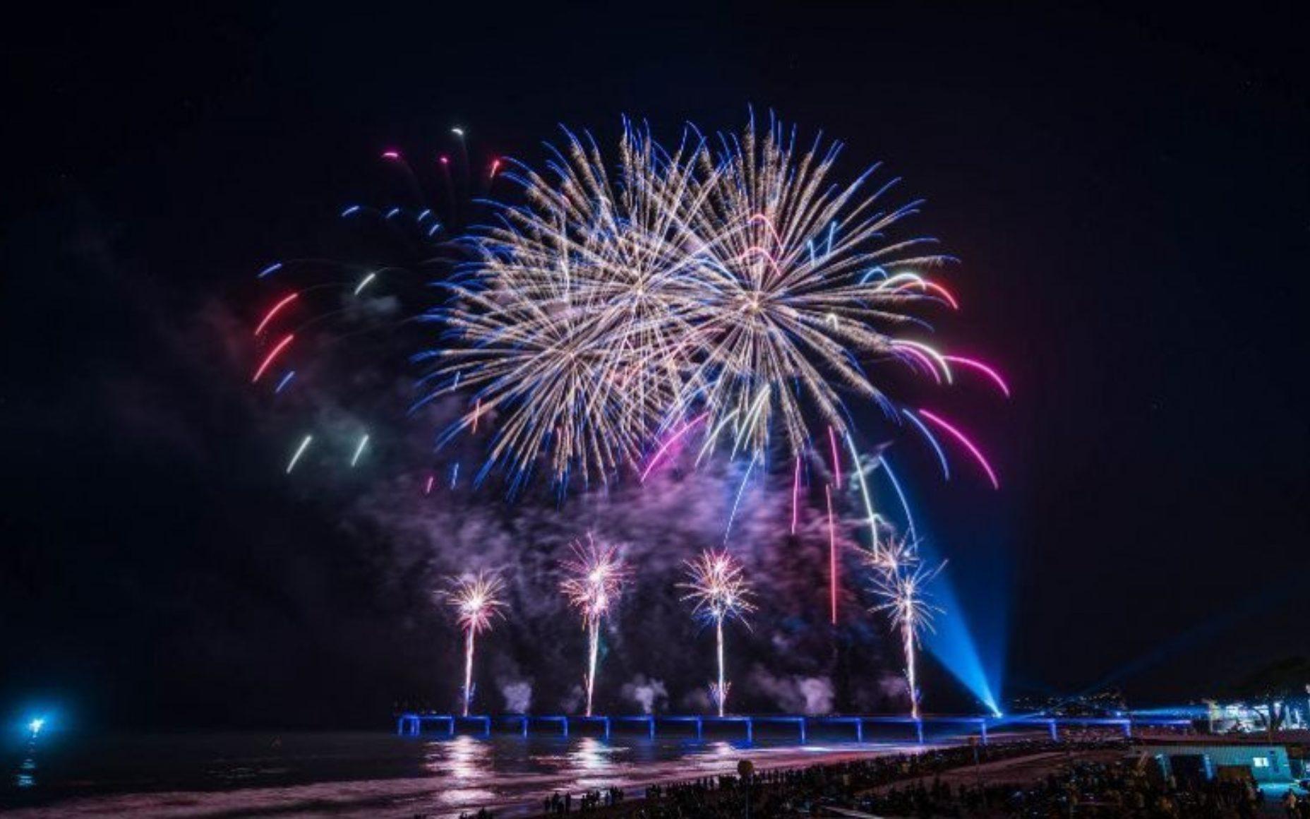 Matariki Fireworks Ōtautahi