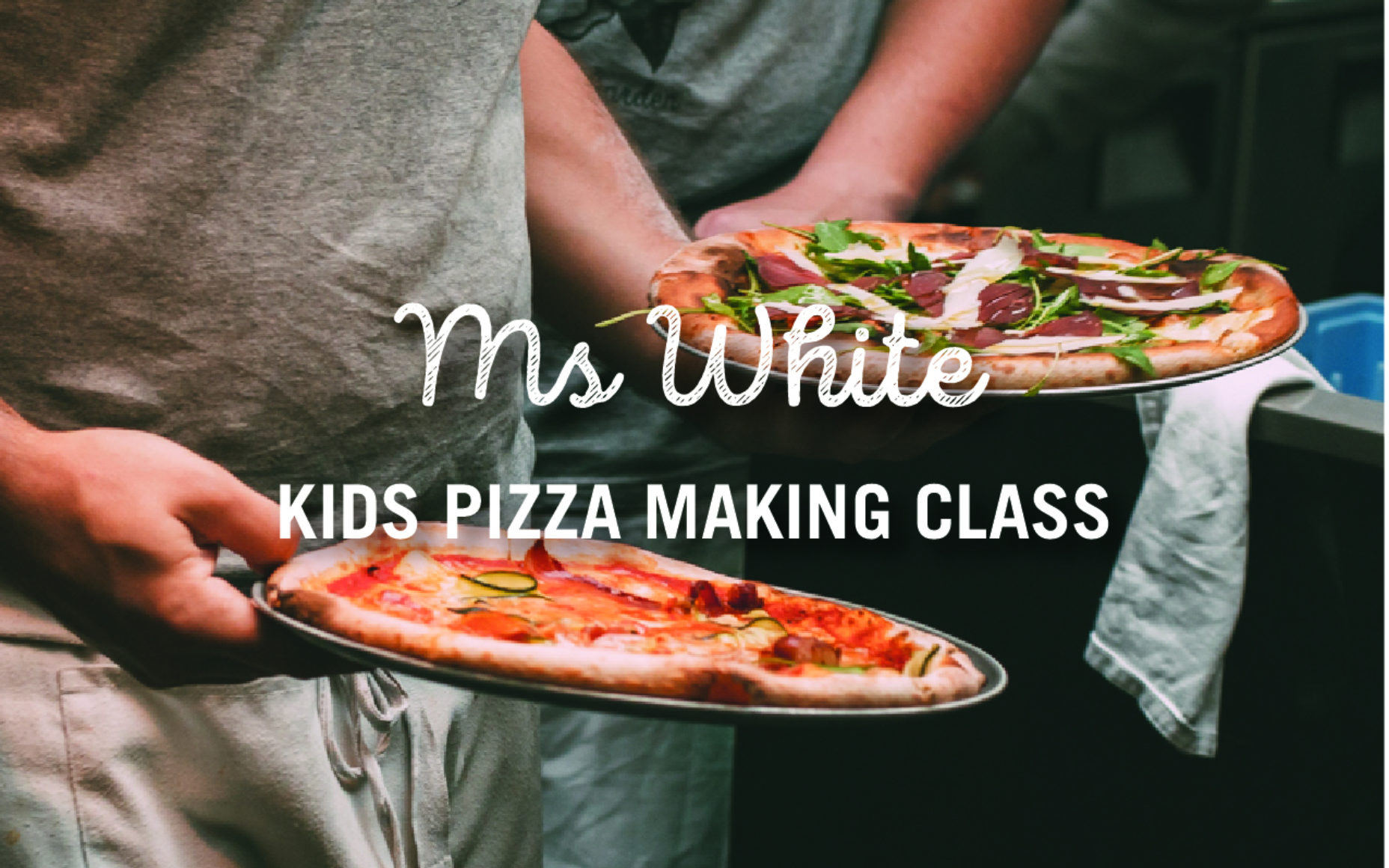 Ms Whites Kids Pizza Making Class Social Post