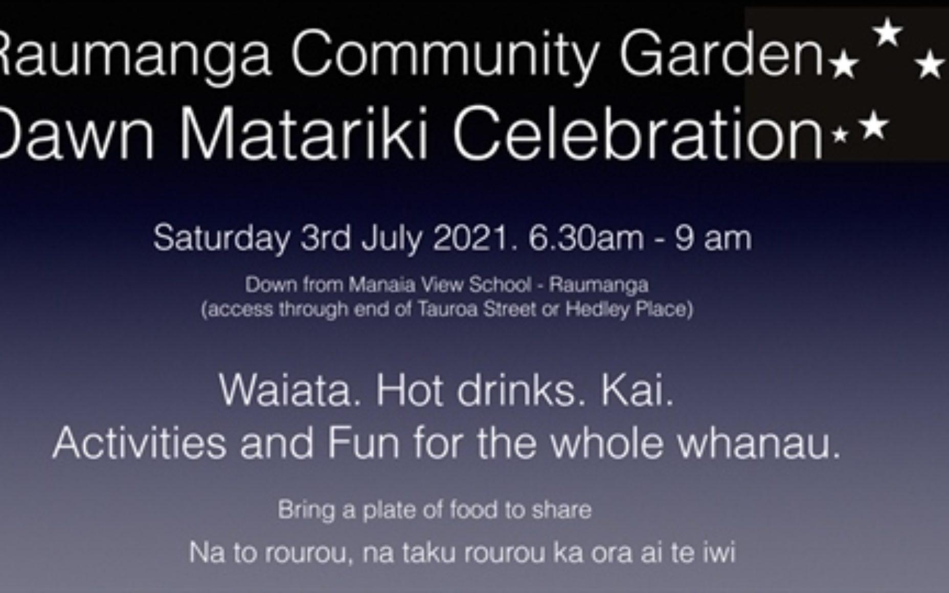 Raumanga Community Garden