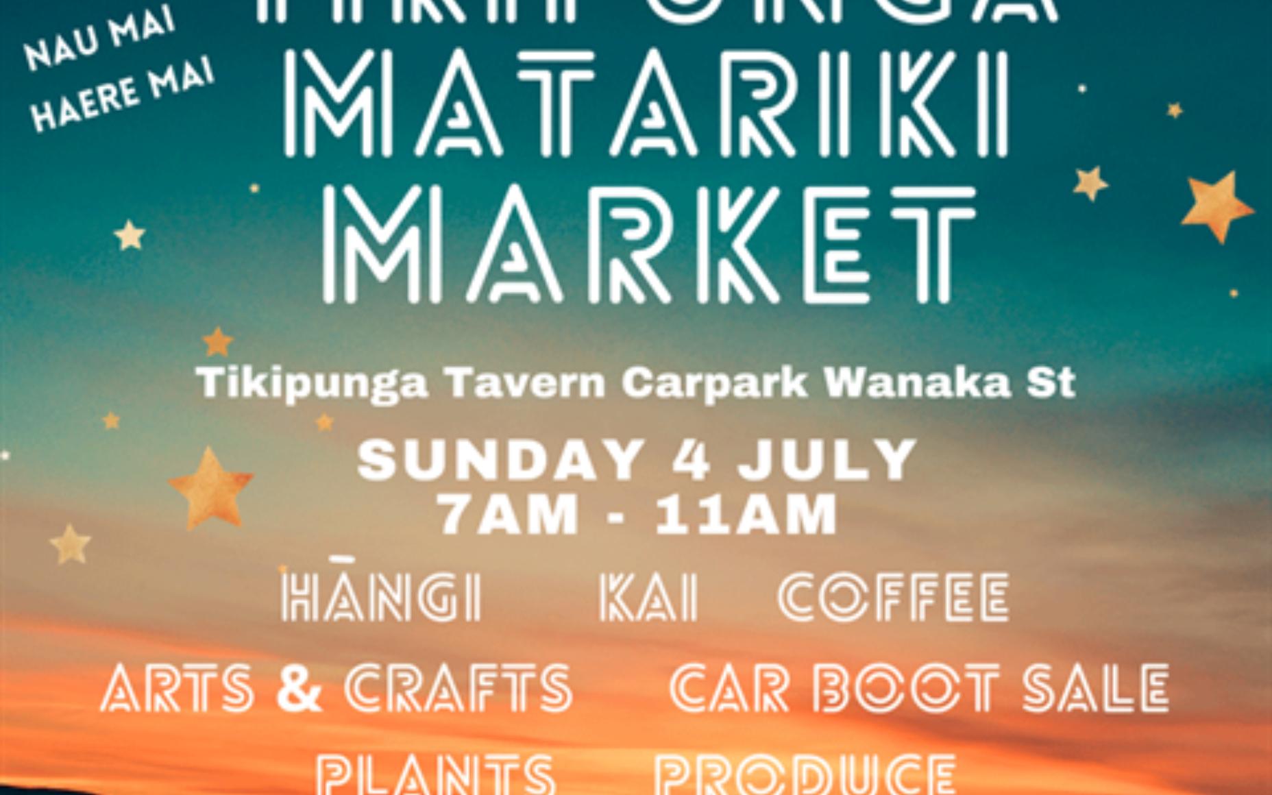Tiki Matariki Market