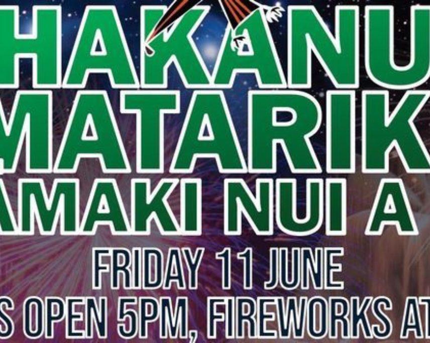 Whakanuia Matariki ki Tāmaki Nui A Rua - Tararua