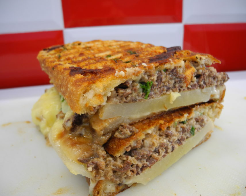 Dine Dunedin: Haggis Needs and Tatties Toastie
