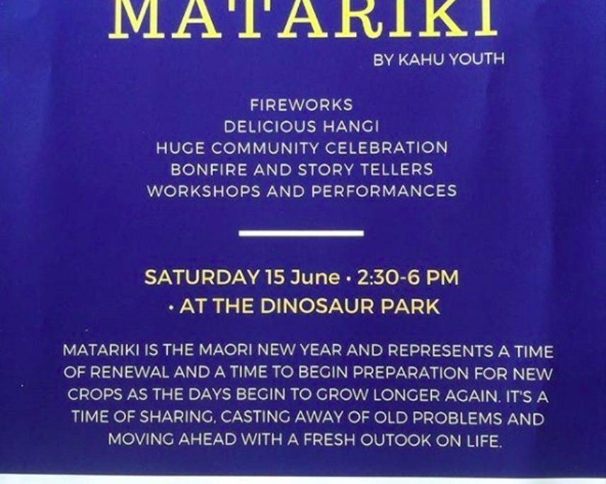 Matariki by Kahu Youth