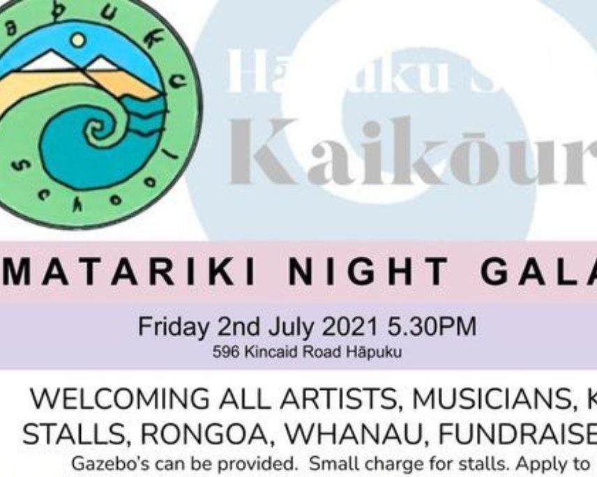 Matariki Night Gala at Hāpuku School
