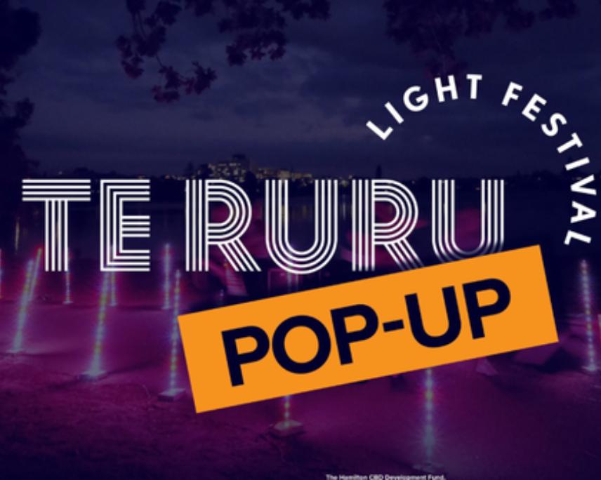 Te Ruru Light Festival