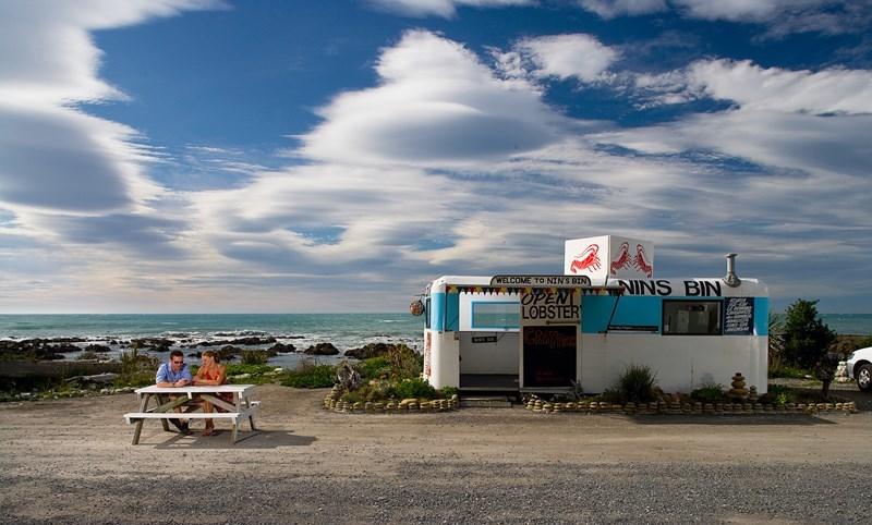 Kaikōura seafood vendor Nins Bin makes a comeback
